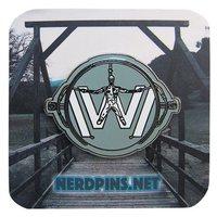 Westworld Logo Pin