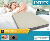 Intex: Queen Deluxe Single-high Airbed
