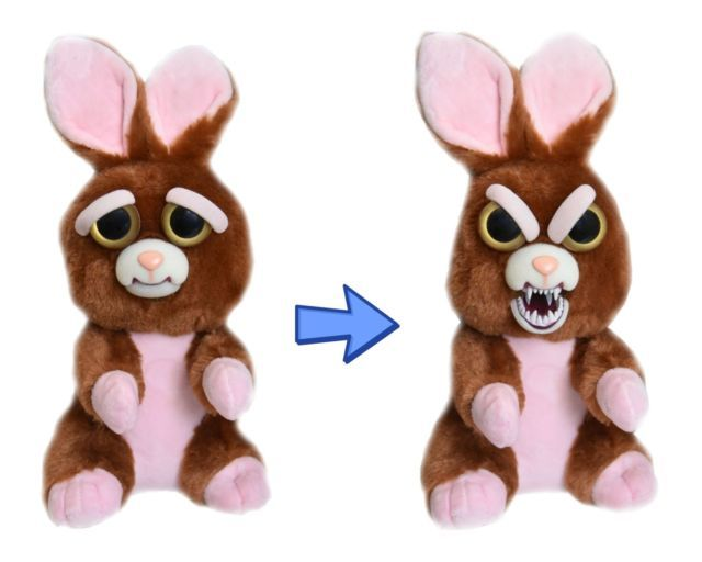 Feisty Pets: Vicky Vicious - Transforming Bunny Plush image