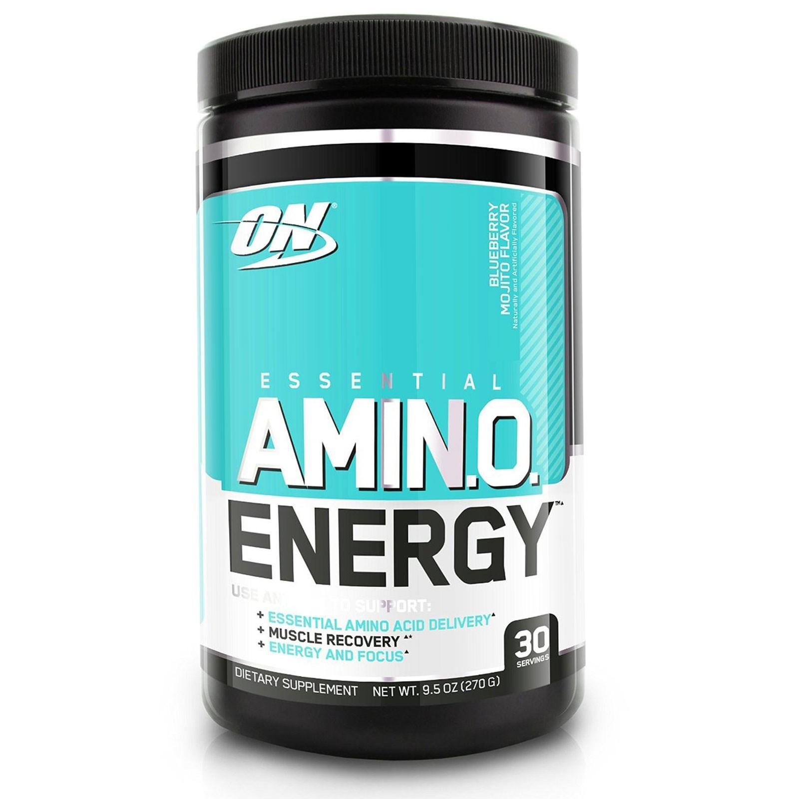 Optimum Nutrition Amino Energy Drink - Blueberry Mojito (30 Serves) image