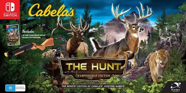 Cabela's: The Hunt Championship Edition bundle for Switch