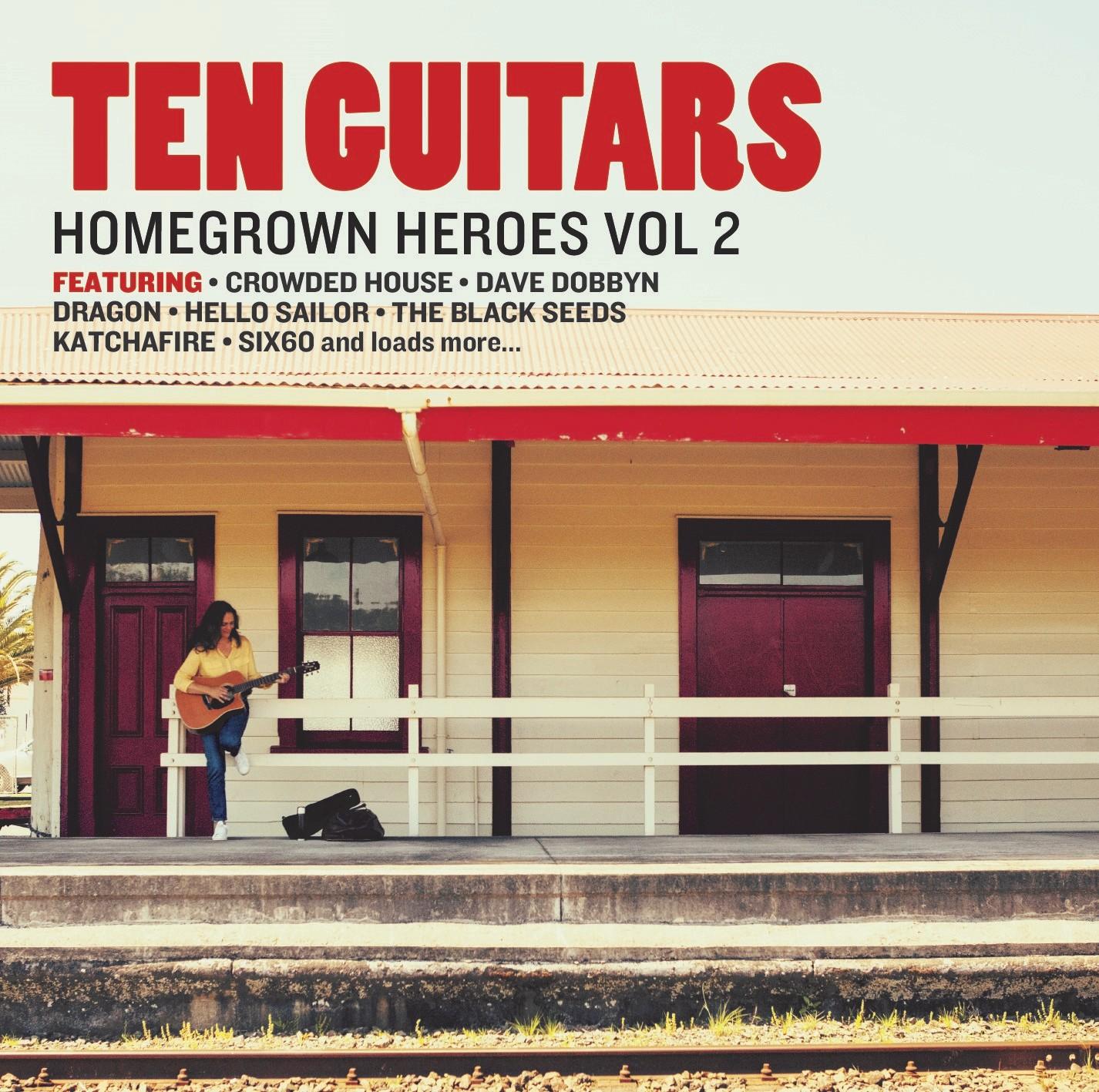 Ten Guitars Homegrown Heroes 2 by Various Artists image