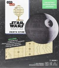 Incredibuilds: Star Wars: Rogue One: Death Star 3D Wood Model and Book by Ryder Windham