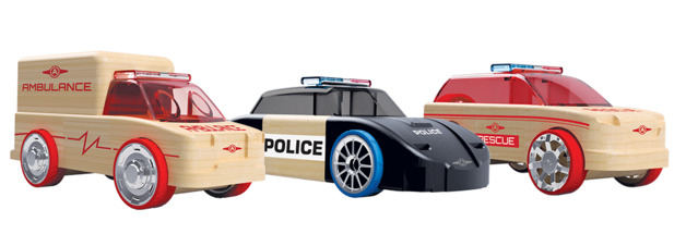 Automoblox: Mini 3-Pack - Rescue Vehicles