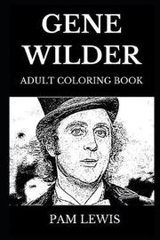 Gene Wilder Adult Coloring Book by Pam Lewis image