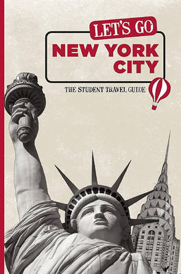 Let's Go New York City: The Student Travel Guide by Harvard Student Agencies, Inc. image