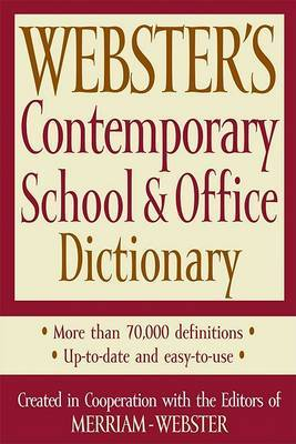 Webster's Contemporary School & Office Dictionary image