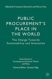 Public Procurement's Place in the World