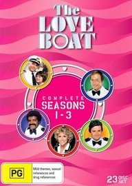 The Love Boat - Seasons 1-3 Collection on DVD