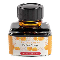 J Herbin: Scented Ink - Orange with Orange Scent (30ml)