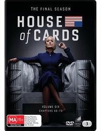 House Of Cards: Season 6 (3 Disc Set) on DVD image