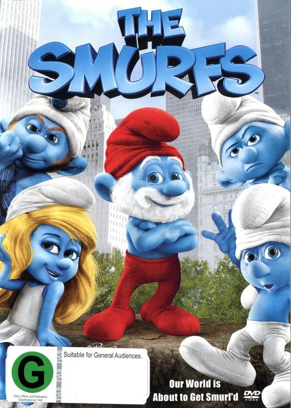 The Smurfs on DVD