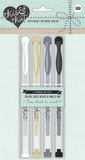 This and That Journalling Pens Blk/Silver/Gold/White (4 Pk)