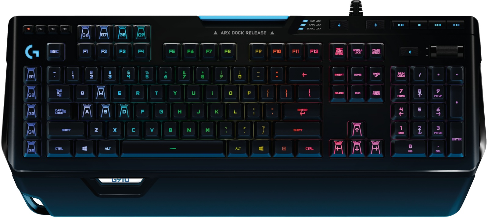Logitech G910 RGB Mechanical Keyboard (Orion Spectrum) for  image