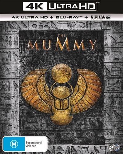 The Mummy on Blu-ray, UHD Blu-ray