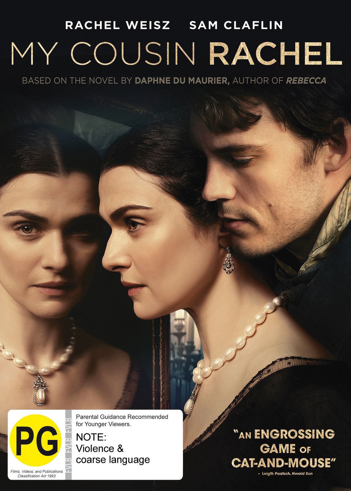 My Cousin Rachel on DVD image