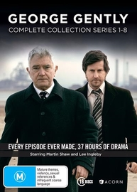 George Gently: Box Set - (Series 1-8) on DVD