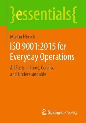 ISO 9001:2015 for Everyday Operations by Martin Hinsch image