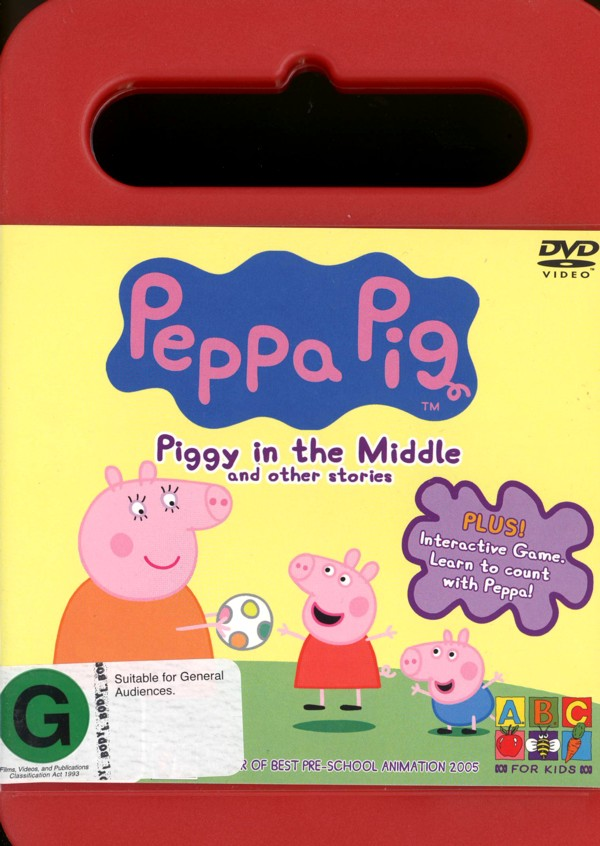 Peppa Pig - Piggy In The Middle And Other Stories on DVD image