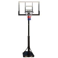 Portable & Crank Adjustable Basketball Hoop Stand System (2.45m-3.05m)