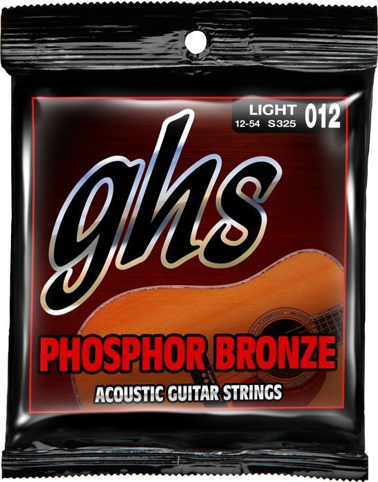 GHS Light 12-54 Phosphor Bronze - Acoustic Guitar Strings