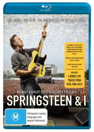Springsteen & I on Blu-ray