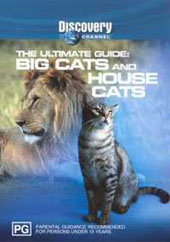 Ultimate Guide - Big Cats & House Cats on DVD