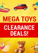 Mega Toys Clearance Deals