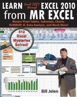 Learn Excel 97-2010 from Mr. Excel: 427 Excel Mysteries Solved by Bill Jelen image