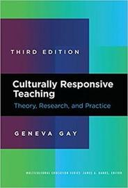 Culturally Responsive Teaching by Geneva Gay