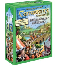 Carcassonne: Bridges, Castles & Bazaars - 2nd Edition