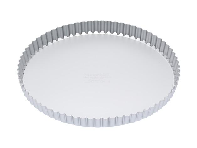 MasterClass: Silver Anodised Round Flan/Quiche Tin (28cm)