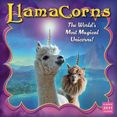 Llamacorns - Wall Calendar 2021 by Sellers Publishing