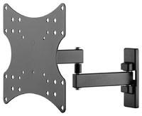 "Goobay: Small Basic Full Motion TV Wall Mount - Dual-Arm (23""-42"")"