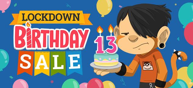 Lockdown Birthday Sale