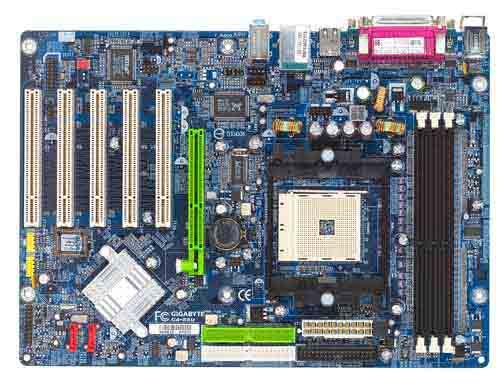 Gigabyte Motherboard Socket 754 GA-K8U image