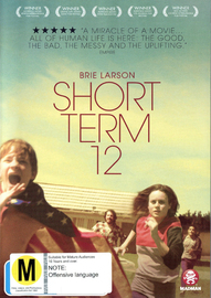 Short Term 12 on DVD