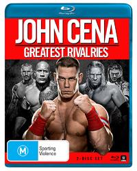 WWE John Cena: Greatest Rivalries on Blu-ray