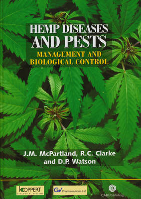 Hemp Diseases and P by John McPartland image