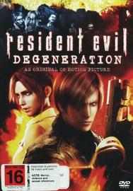 Resident Evil - Degeneration on DVD