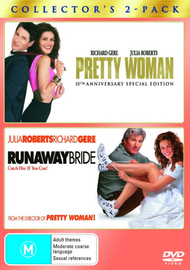 Pretty Woman / Runaway Bride - Collector's 2-Pack (2 Disc Set) on DVD image