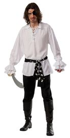 White Pirate Shirt - (Medium)