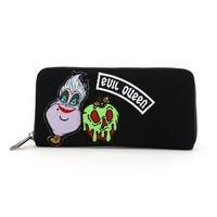 Loungefly: Disney Villains Patch - Zip Around Wallet