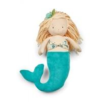 Bunnies By The Bay: El-Sea Mermaid Doll - Blue (36cm)