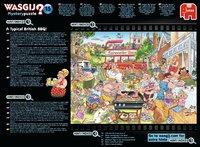 Wasgij: 1000 Piece Puzzle - Originals #15 (A Typical British BBQ!) image