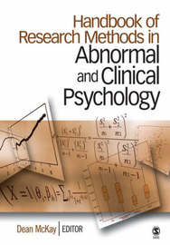 Handbook of Research Methods in Abnormal and Clinical Psychology image