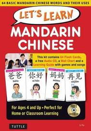 Let's Learn Mandarin Chinese Kit by Li Yu