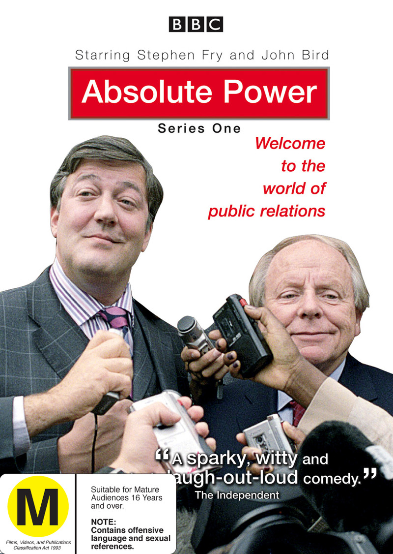 Absolute Power - Series 1 on DVD image