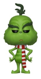 The Grinch (2018) - The Grinch (with Scarf) Pop! Vinyl Figure