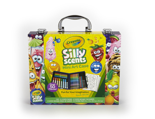 Crayola: Silly Scents - Mini Art Case